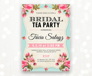 diy, invitation, and bridal shower image