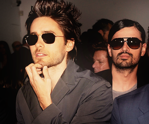 30 seconds to mars, jared leto, and tomo milicevic image