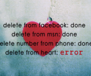 delete, heart, and error image