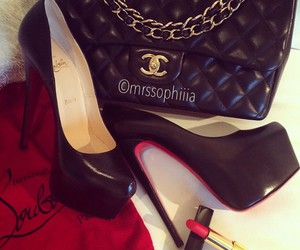 chanel and christian louboutin image