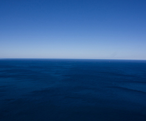blue, horizon, and endless image