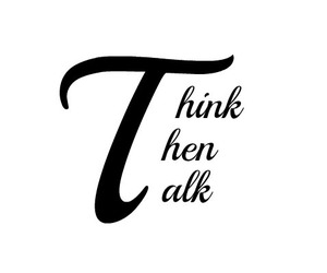 quotes, think, and talk image