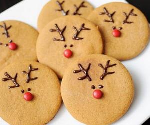 christmas, christmas cookies, and food image