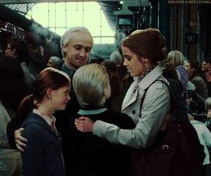 draco malfoy, emma watson, and dramione image