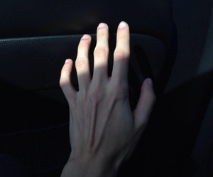 hand, pale, and grunge image