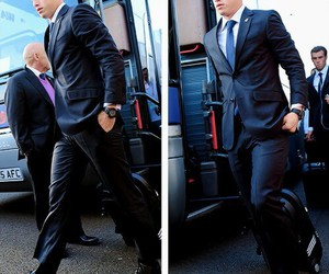 real madrid, james rodriguez, and suit image