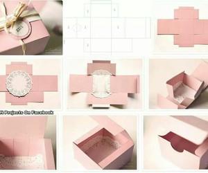 box, diy, and Paper image