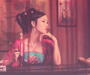 chinese and girl image