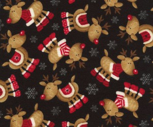 backgrounds, christmas, and reindeer image