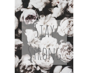 <3, flowers, and stay image