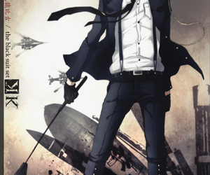 k project, fushimi saruhiko, and anime image
