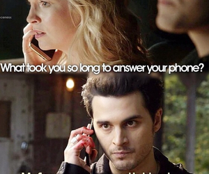 caroline, enzo, and tvd image