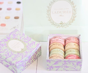 food, sweet, and laduree image