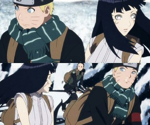 couple, hinata, and movie image