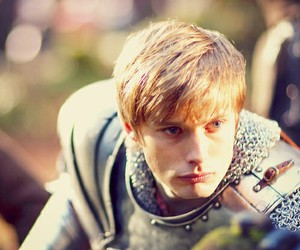 merlin, camelot, and bradley james image