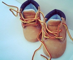 baby, timberland, and shoes image