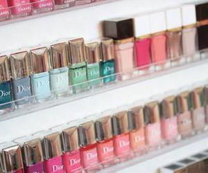 nails, dior, and nail polish image