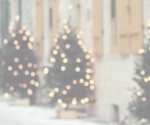 christmas, header, and lights image
