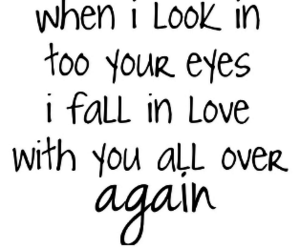 eyes, love, and again image