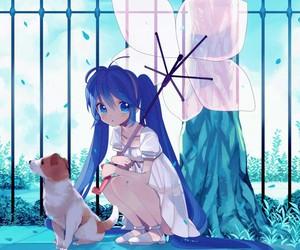 anime, wallpaper, and anime girl image