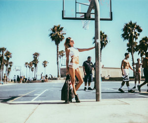 Basketball, beach, and clothes image