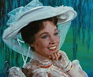 beautiful girl, julie andrews, and Mary Poppins image