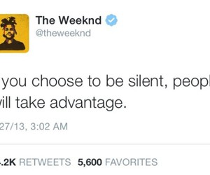 quote and the weeknd image