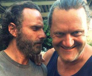 the walking dead, corl, and negan image