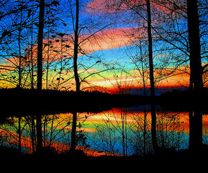 beautiful pictures, colorful, and sky image