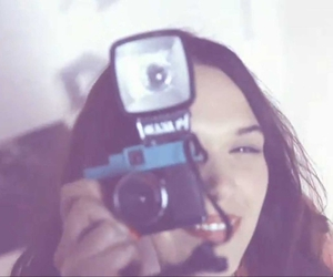 awesome, lomography, and brunette image