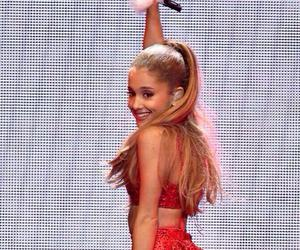 ariana grande, christmas, and red image