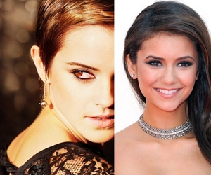 emma watson, girls, and Nina Dobrev image