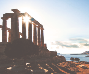Greece, travel, and ruins image
