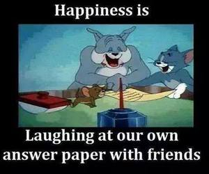 happiness and friends image