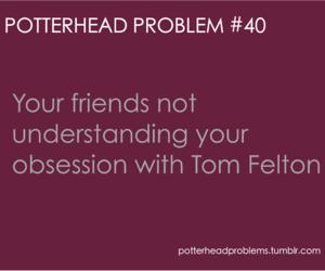 harry potter, tom felton, and hp image