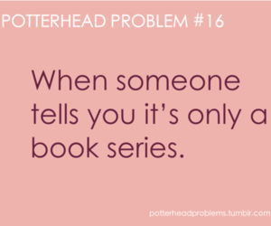 harry potter, problem, and book image