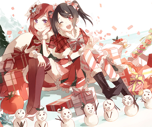 anime, christmas, and lovelive image