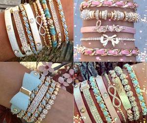 accessoires, beautiful, and bracelet image