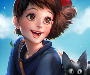 anime, ghibli, and kiki image