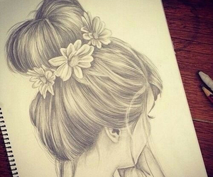 beautiful, draw, and cute image