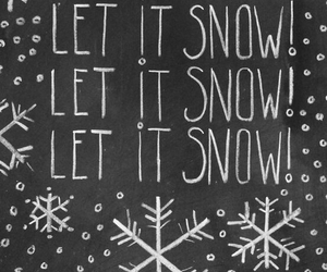 quote, snow, and text image