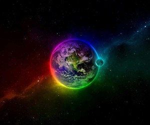 beautiful, Univers, and terre image