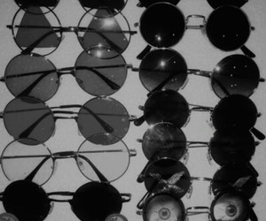 sunglasses, glasses, and grunge image