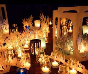 candles, Dream, and glowing image