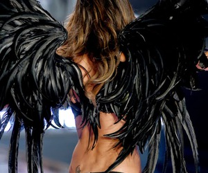 Angel Wings, fitness inspiration, and lingerie image