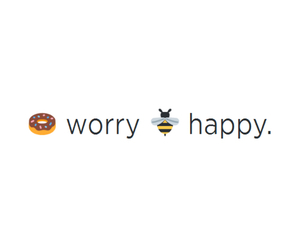 happy, donuts, and bee image