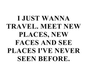 travel, quote, and places image