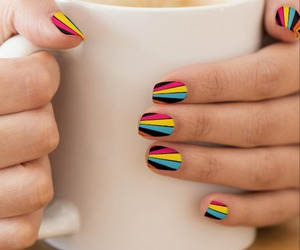 abstract, fashion, and manicure image