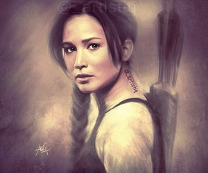 katniss everdeen, Jennifer Lawrence, and hunger games image