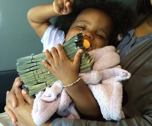 baby, goals, and money image